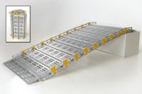 Roll-A-Ramp 15' x 30'' Aluminum Ramp | A13014A19, cheap ramp, low price ramp, discount ramps, best price ramp, value ramp, quality ramp, aluminum ramp, safety ramp,