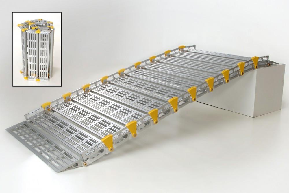 Roll-A-Ramp®  16' x 30''  Aluminum Ramp | A13015A19, cheap ramp, low price ramp, discount ramps, best price ramp,