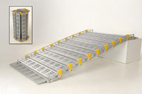 Roll-A-Ramp® | 11' x 36'' | Aluminum Ramp | A13610A19, portable ramp, fold up ramp, roll up ramp, accessible ramp, lightweight ramp, handicapped ramp, handicap ramp, cheap ramp, low price ramp, discount ramps, best price ramp, wheelchair ramp, value ramp,  quality ramp, aluminum ramp, safety ramp, roll a ramp, atv ramp, motorcycle ramp, boat ramp, bike ramp, home ramp, front door ramp, back door ramp, garage ramp, sturdy ramp, ADA ramp, HUD ramp,  Veterans ramp, VA ramp,