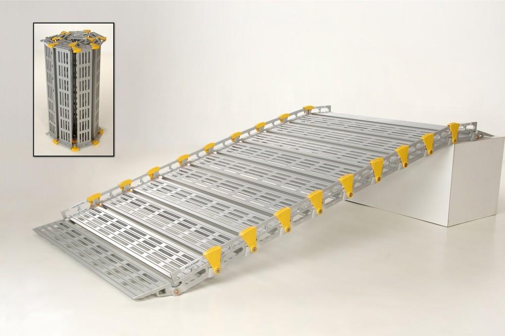 Roll-A-Ramp® | 14' x 36'' | Aluminum Ramp | A13613A19,  portable ramp, cheap ramp, low price ramp, discount ramps, best price ramp, wheelchair ramp, value ramp,  quality ramp, aluminum ramp, safety ramp, roll a ramp