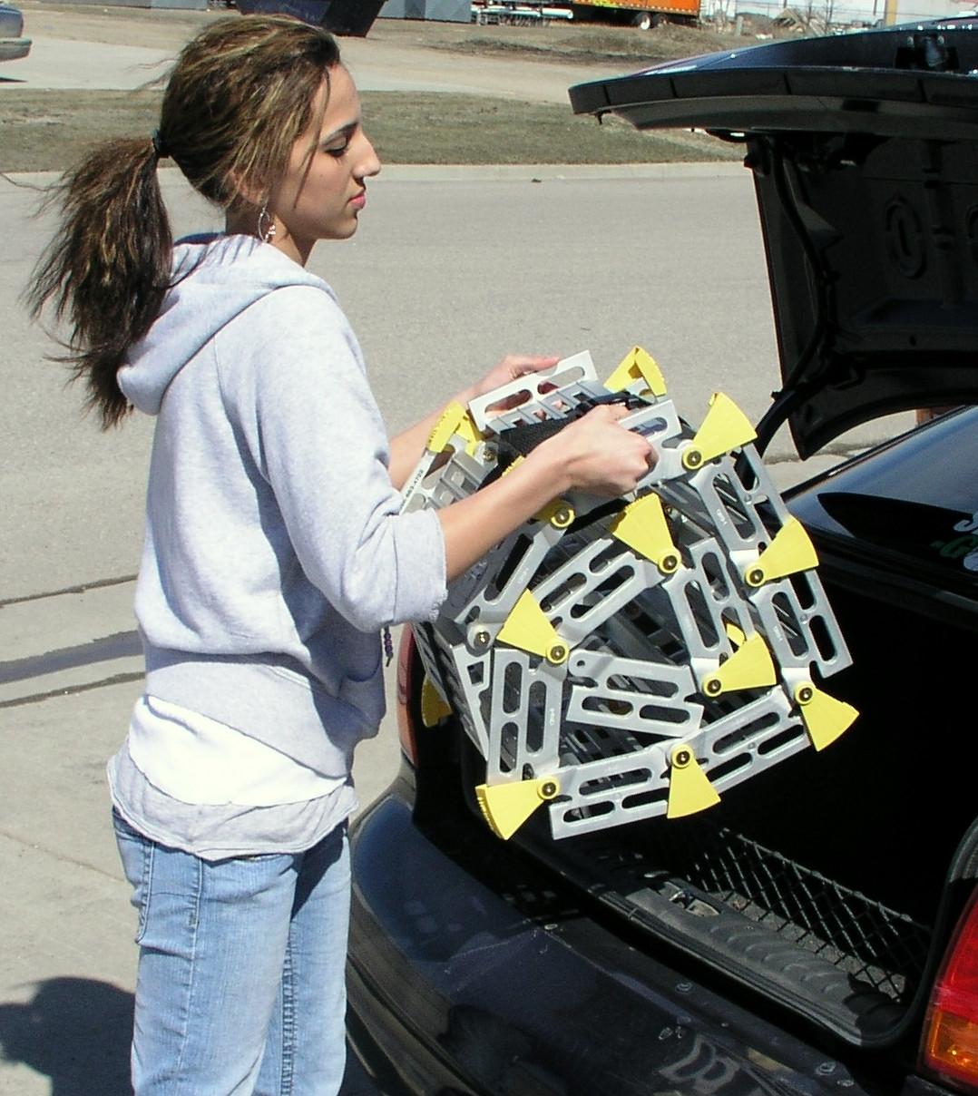Roll-A-Ramp® | 15' x 36'' | Aluminum Ramp | A13614A19, portable ramp, wheelchair, roll, ramp, ramps, portable ramp,
