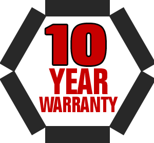 We believe in our product so much that we offer a 10-year warranty on our ramps! If anything goes wrong with your ramp (if a piece bends or breaks etc.) we will replace it hassle-free at no cost to you. To the best of our knowledge, no other ramp company offers a warranty this comprehensive.