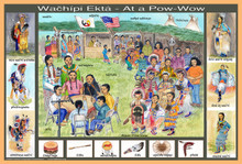 Small Pow-wow poster