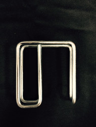 1x3 Short Stall Curtain Hooks (sold in sets of 6)