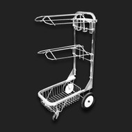 Rolling Dolly with 2 Saddle Racks.
