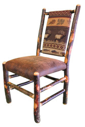 Rustic Hickory Dining Chair