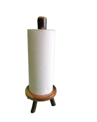 Rustic Hickory Paper Towel Holder - Counter Top