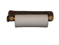 Rustic Hickory Paper Towel Holder - Wall Mount
