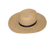 Authentic Amish Straw Hat