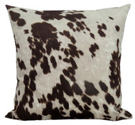 Premium Throw Pillow COVER ONLY - Cow Hide