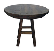 "Barnwood 36"" Round Table"