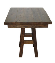 "Barnwood 36"" Square Table"
