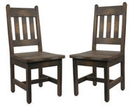 2 Barnwood Dining Chairs (SAVE on a set of 2!)