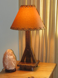 Amish Barnwood Table Lamp (Shade sold separately)