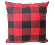 Premium Rustic Throw Pillow COVER ONLY- Buffalo Plaid