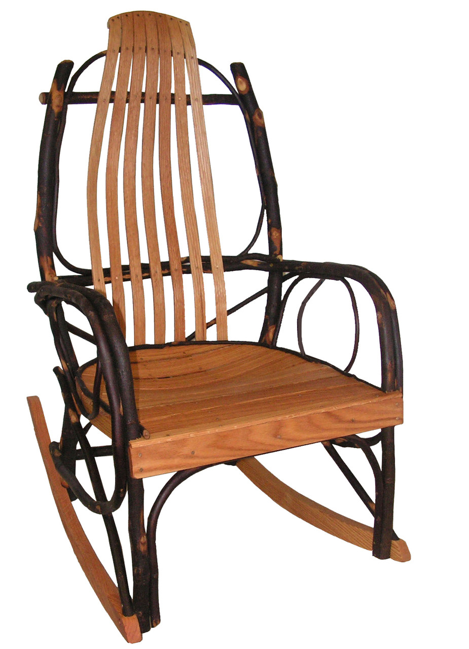Stupendous Amish Bentwood Rocker Hickory Oak Free Shipping Onthecornerstone Fun Painted Chair Ideas Images Onthecornerstoneorg