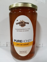 2 lb. Pure Raw Honey