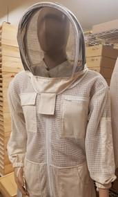 Premium Ventilated Suit w/ Domed Veil in 100% Organic Cotton