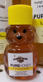 Pure Raw Honey, 2 oz Mini Bear