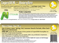 SuperDFM- HoneyBee- 1 Hive Treatment- Beneficial Microbial Supplement for Honey Bees