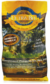 Ultra Bee Dry 50lb Bag, Pollen Substitute