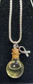 Honey Drop Necklace w/ Hope Charm