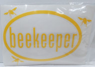 Beekeeper Decal Bumper Sticker