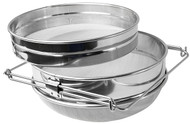 Double Sieve, Stainless Steel Strainer