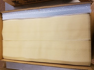 """Plain Thin Foundation for Split Section Frames for Basswood Boxes 4-1/8"""" x 17-1/8"""", 100 Sheets- Clearance"""