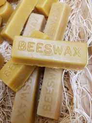 Pure Beeswax 1 Ounce Block, each