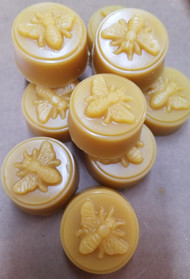 Pure Beeswax Honey Bee Tart, each