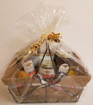 Gift Basket with Seasonal Honey Products, Medium