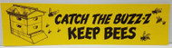 Catch the Buzz Bumper Sticker, Yellow