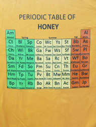 Periodic Table of Honey, T-Shirt