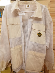 Premium Ventilated Jacket w/ Domed Veil in 100% Organic Cotton