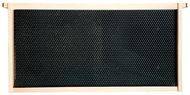 """9-1/8"""" Grooved Top, Grooved Bottom Board Frame, Assembled w/ Black Plastic Foundation, Each"""