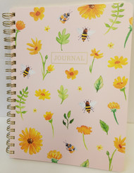 Flowered Bee Journal, 192 pages