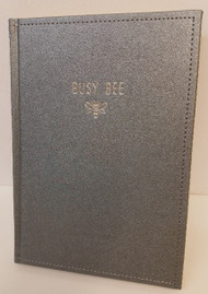 Busy Bee Notebook, 104 Gold Lined Pages