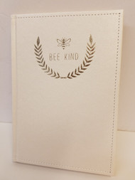 Bee Kind Notebook, 104 Gold Lined Pages