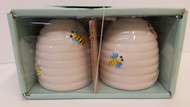 Bee Skep Salt & Pepper Shakers