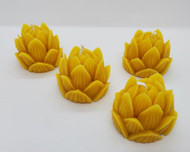 Pure Beeswax Lotus Flower Candle, Water Lily Candle