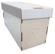 White Waxed Cardboard Nuc Box
