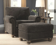 Stracelen Sable Chair & Ottoman