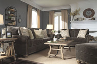 Stracelen Sable Sofa, Loveseat, Chair & Ottoman