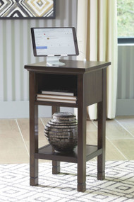 Marnville Dark Brown Accent Table
