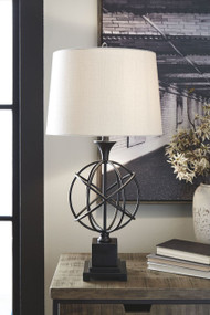 Camren Black Metal Table Lamp (1/CN)