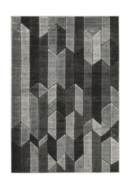 Chayse Black/Gray Large Rug