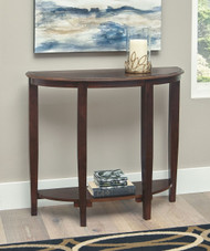 Altonwood Brown Console Sofa/Couch Table