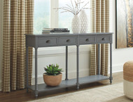 Eirdale Gray Console Sofa/Couch Table