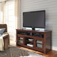 Harpan Reddish Brown Large TV Stand